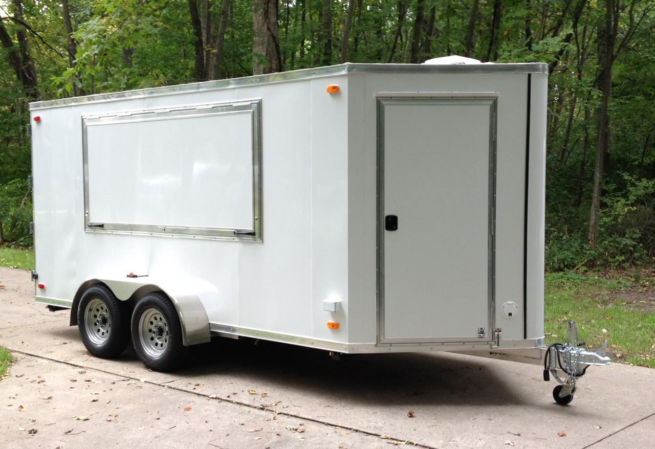 Refrigerated Refrigerated Keg Trailer